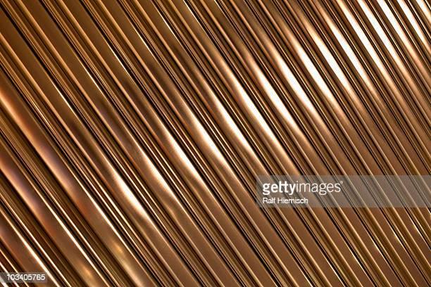 Gold lines, full frame