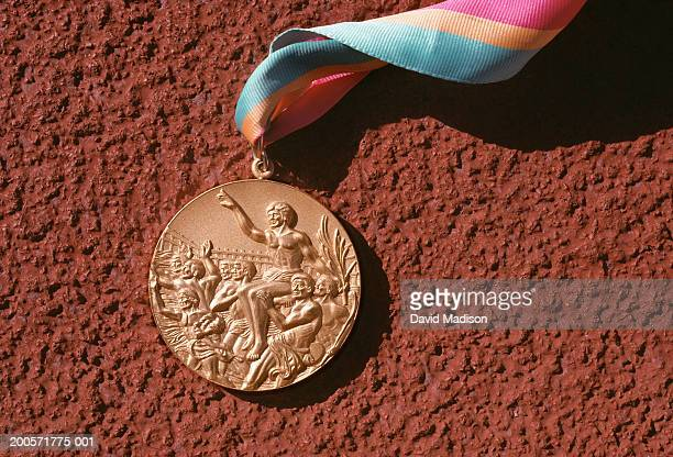 Gold medal awarded during 1984 Los Angeles Olympic Games