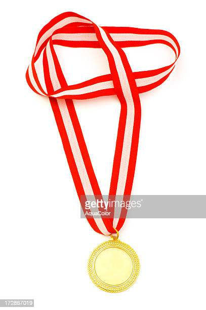 gold medal - strap stock pictures, royalty-free photos & images