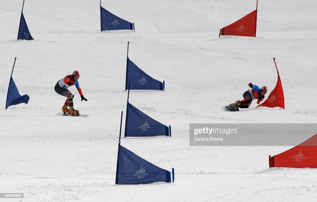 Final Parallel Giant Slalom - Mens Snowboard : News Photo