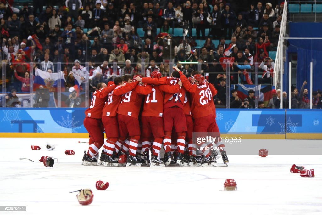 KOR: Ice Hockey - Winter Olympics Day 16