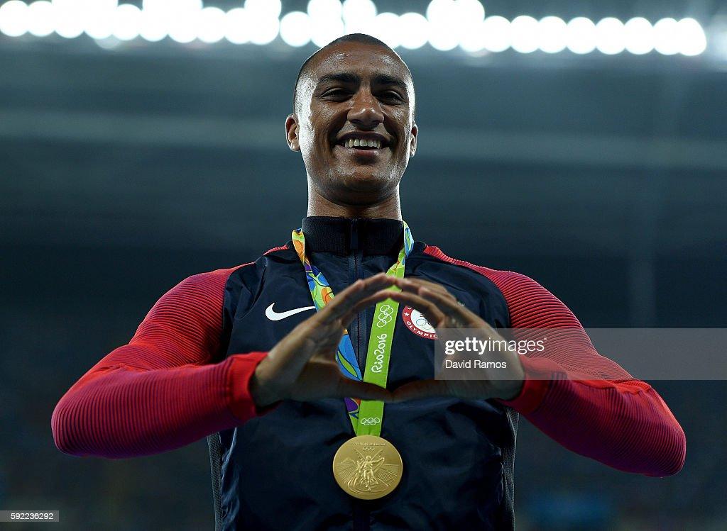 Athletics - Olympics: Day 14 : ニュース写真