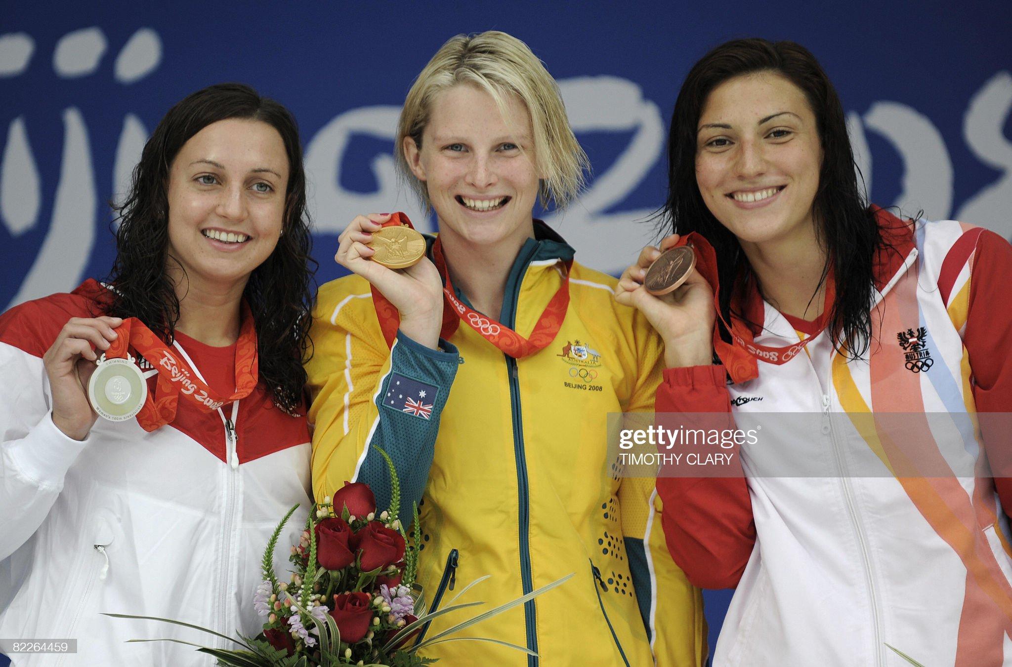 Gold medalist Australia's Leisel Jones ( : Fotografía de noticias