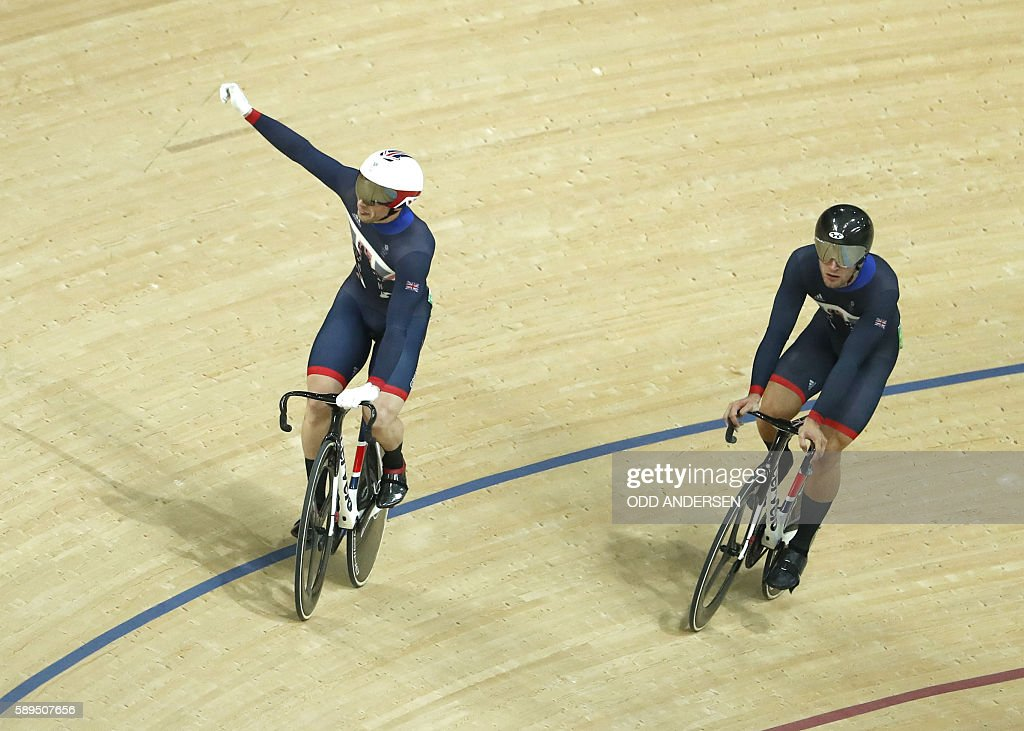 CYCLING-TRACK-OLY-2016-RIO : News Photo