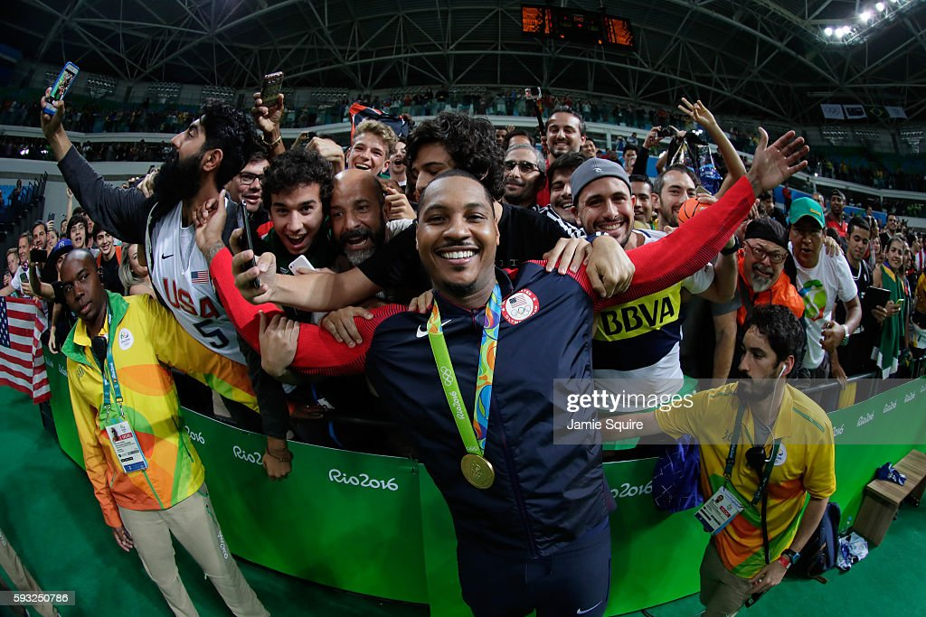 Basketball - Olympics: Day 16 : News Photo