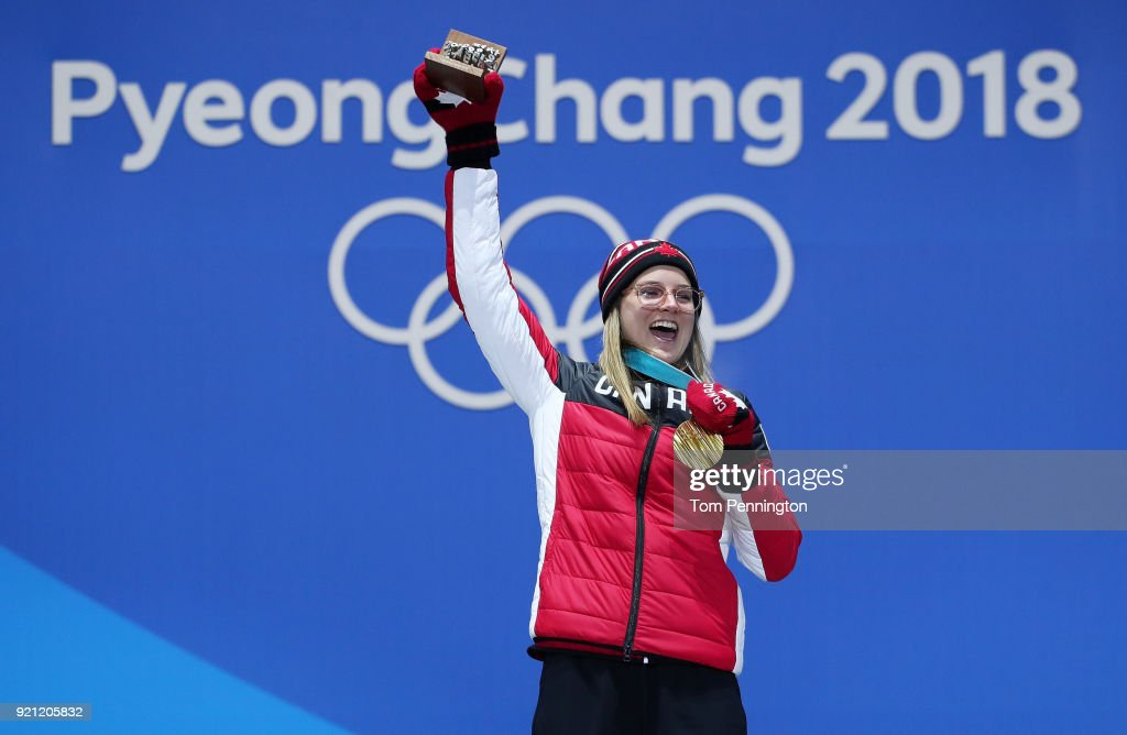 KOR: Medal Ceremony - Winter Olympics Day 11