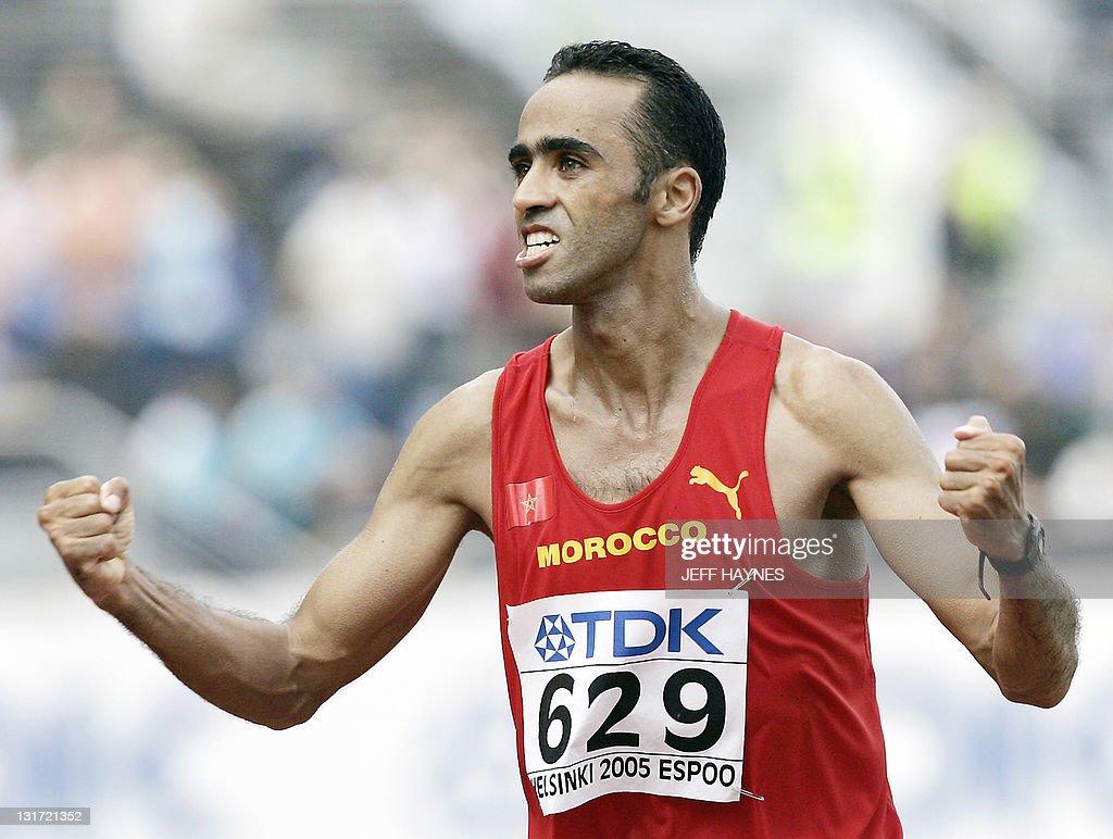 Gold medalist Jaouad Gharib of Morocco c : News Photo