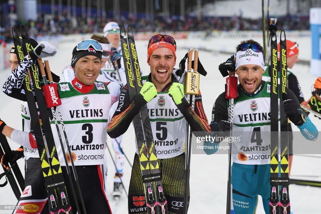 Men's Nordic Combined HS130/10k - FIS Nordic World Ski Championships : News Photo
