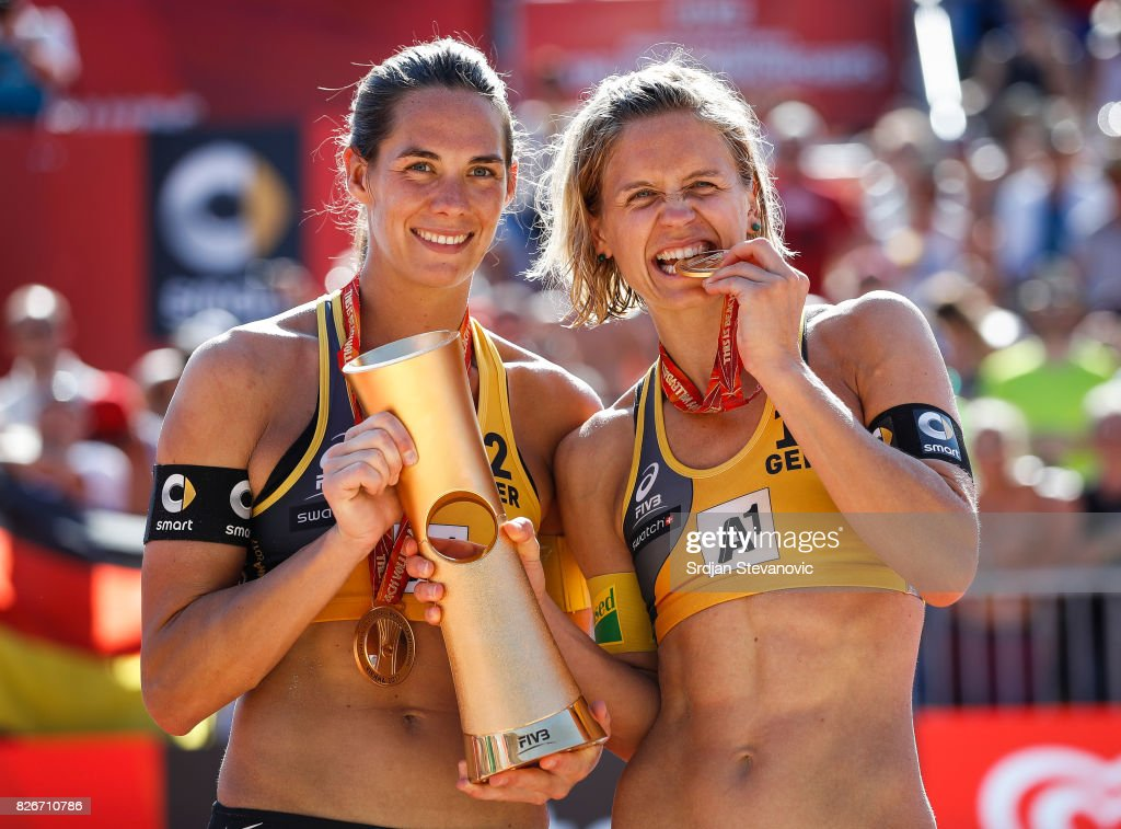 FIVB Beach Volleyball World Championships - Day 9 : Fotografia de notícias