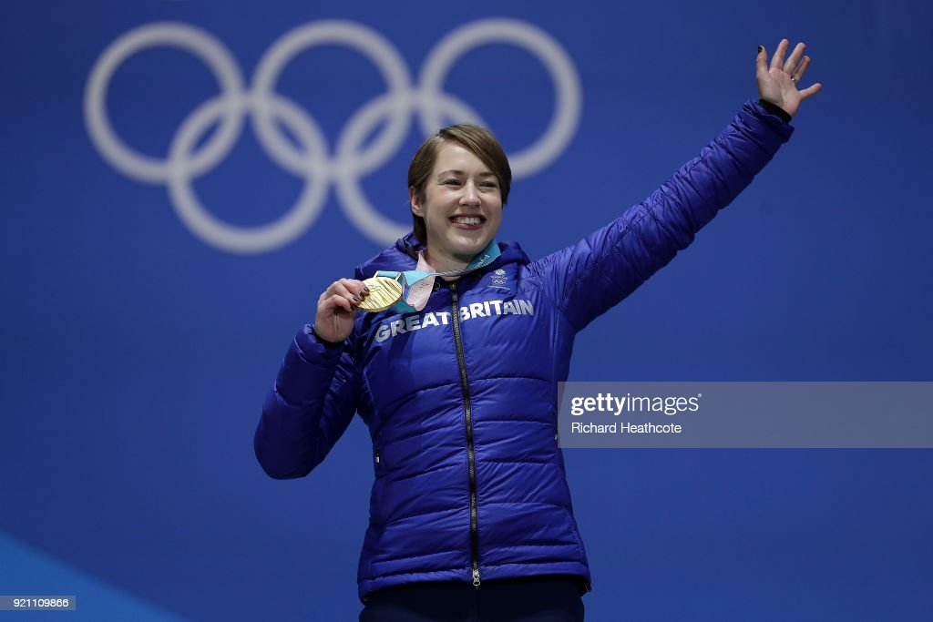 Medal Ceremony - Winter Olympics Day 9 : News Photo