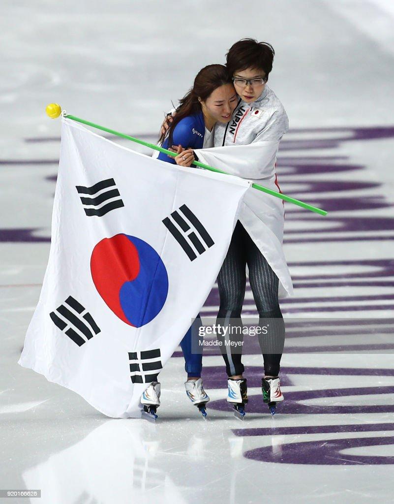 Speed Skating - Winter Olympics Day 9 : ニュース写真