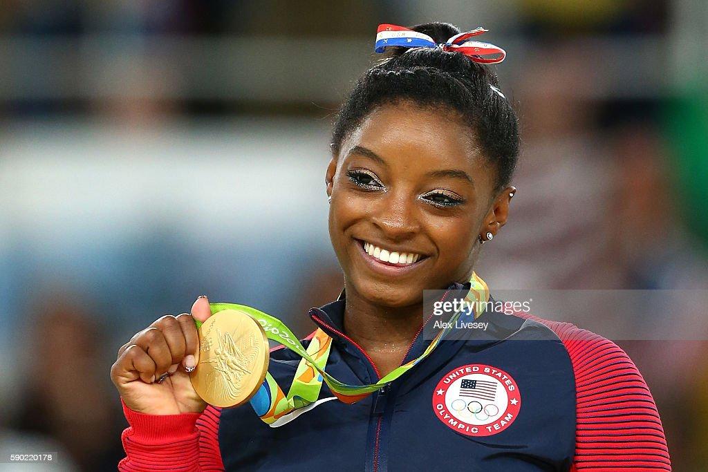 Gymnastics - Artistic - Olympics: Day 11 : Nachrichtenfoto