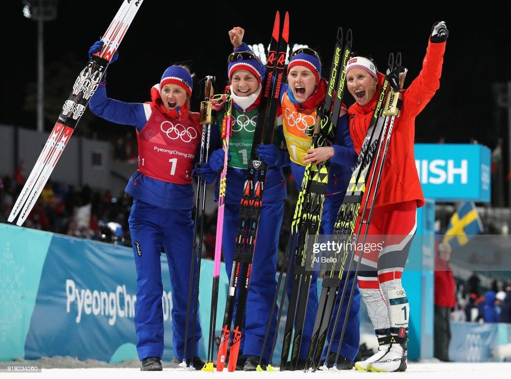Cross-Country Skiing - Winter Olympics Day 8 : News Photo