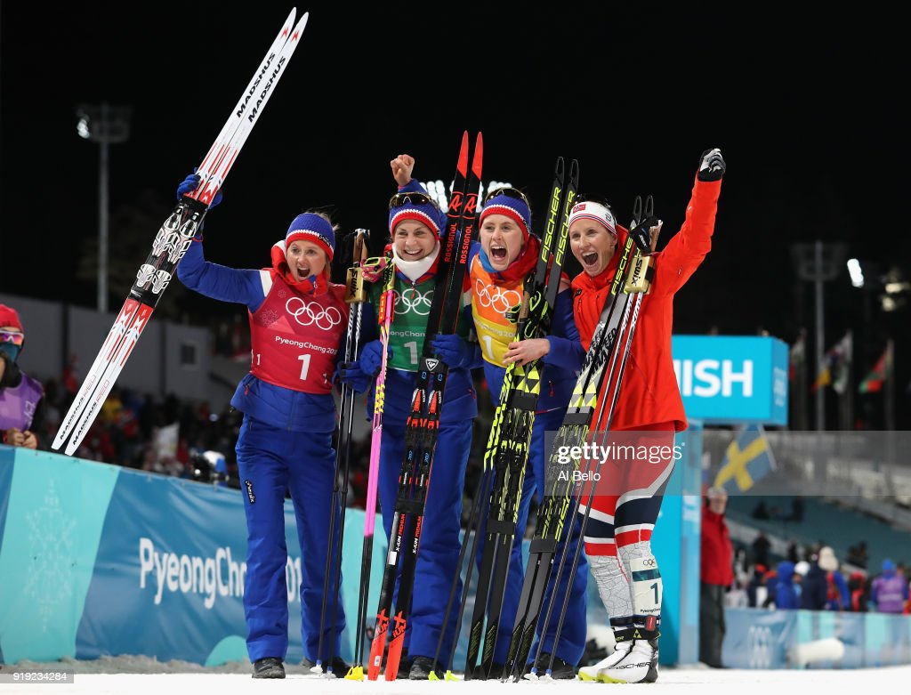 Cross-Country Skiing - Winter Olympics Day 8 : Fotografía de noticias