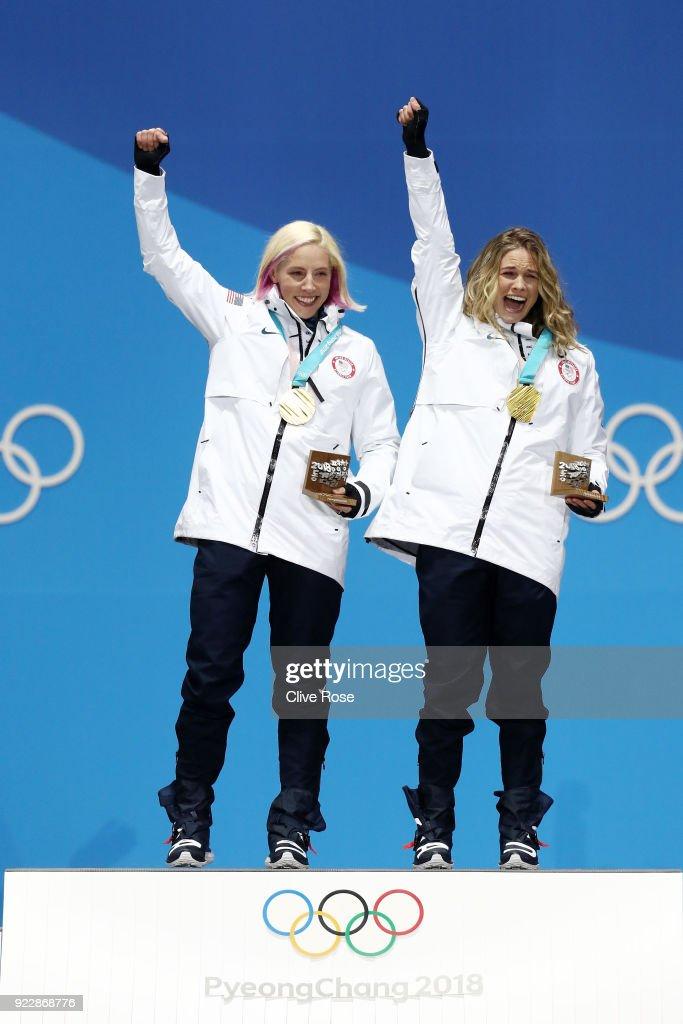 Medal Ceremony - Winter Olympics Day 13 : Foto di attualità