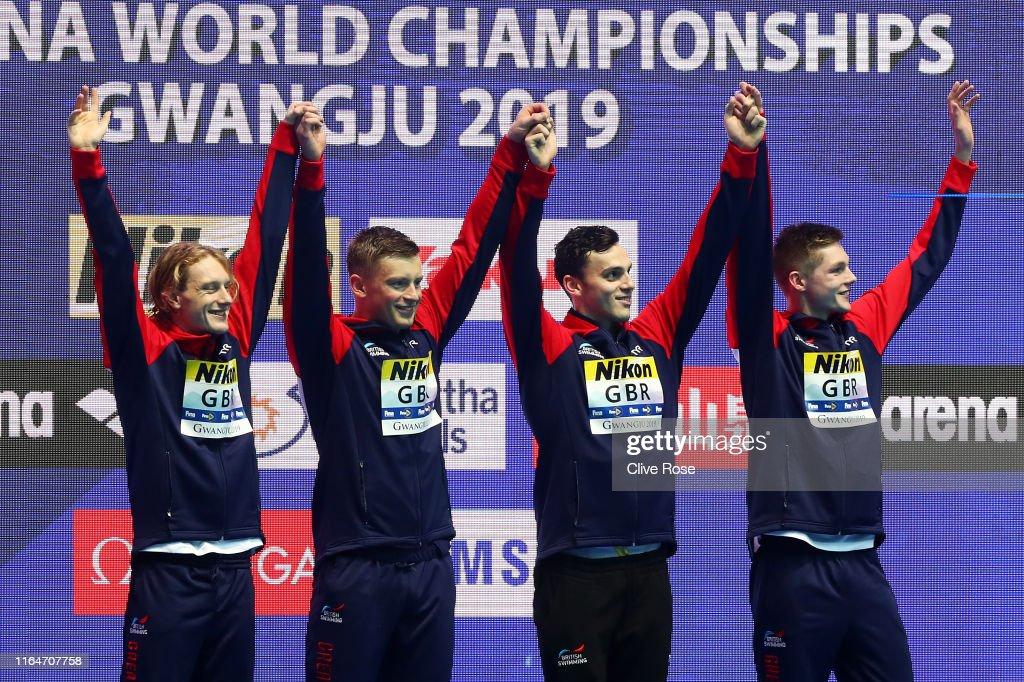 Gwangju 2019 FINA World Championships: Swimming - Day 8 : News Photo