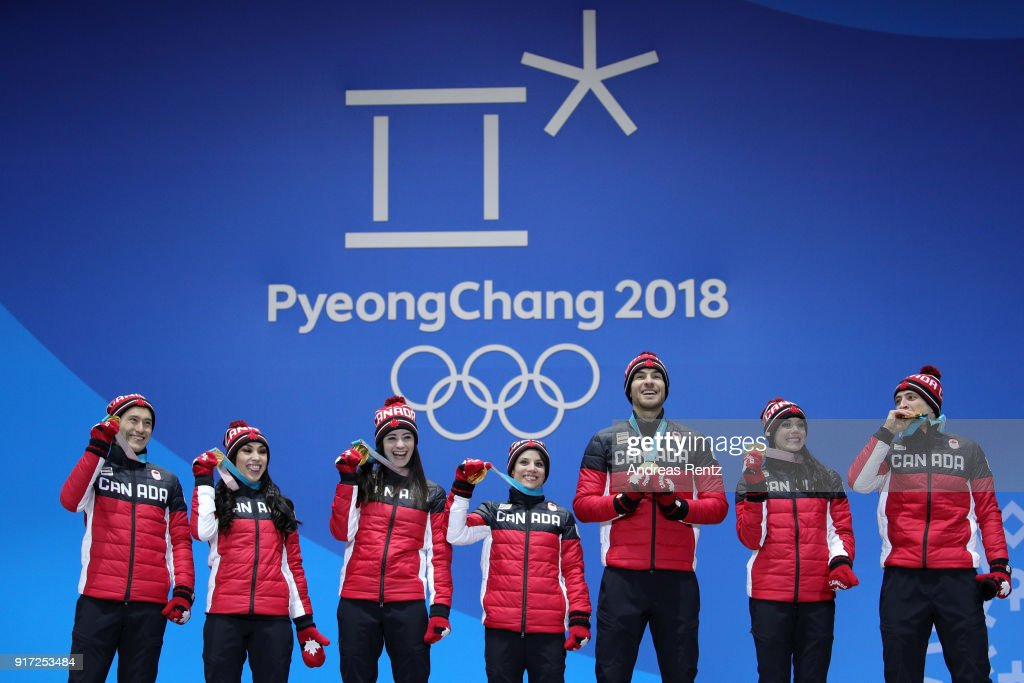 Medal Ceremony - Winter Olympics Day 3 : News Photo