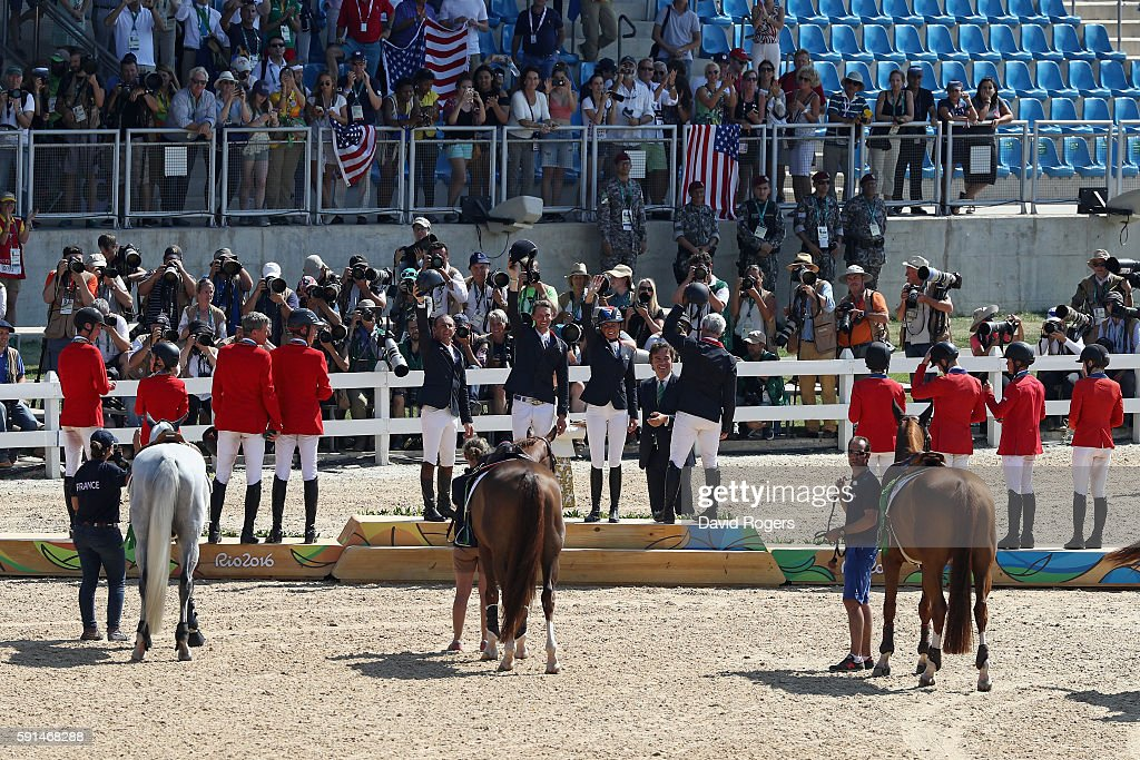 Equestrian - Olympics: Day 12 : News Photo