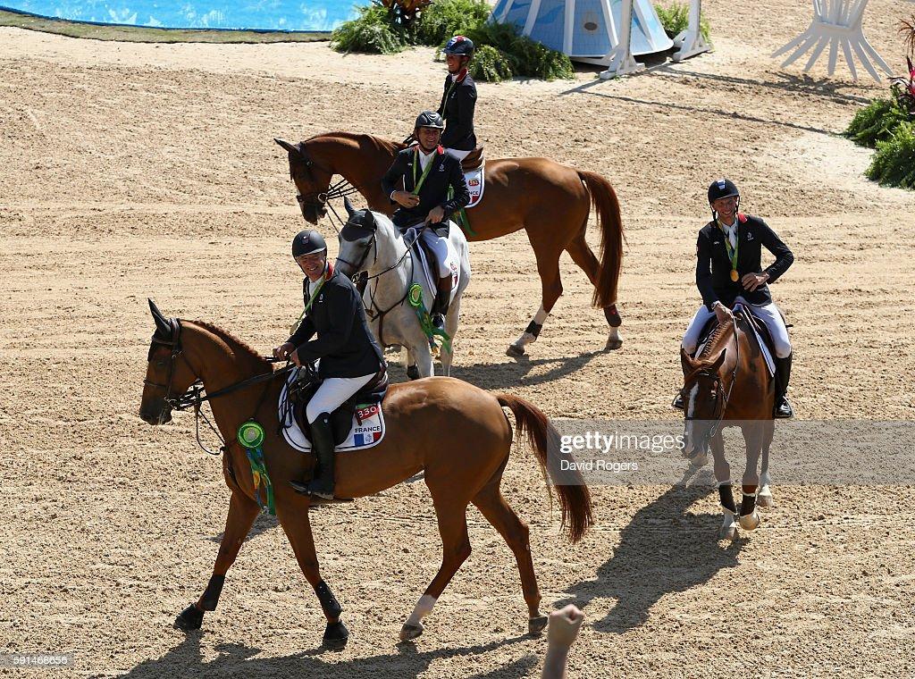 Equestrian - Olympics: Day 12 : Nieuwsfoto's