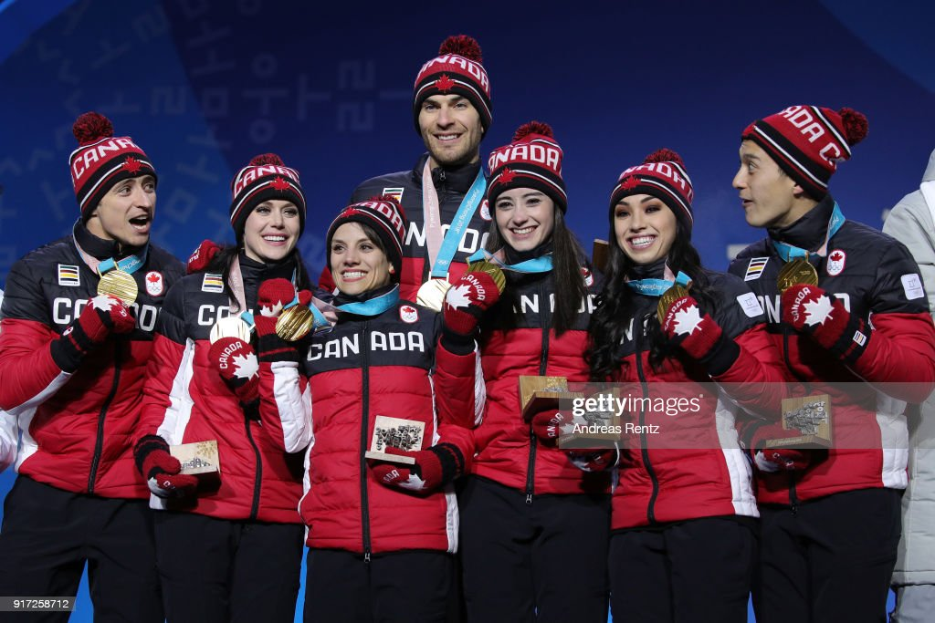 Medal Ceremony - Winter Olympics Day 3 : News Photo