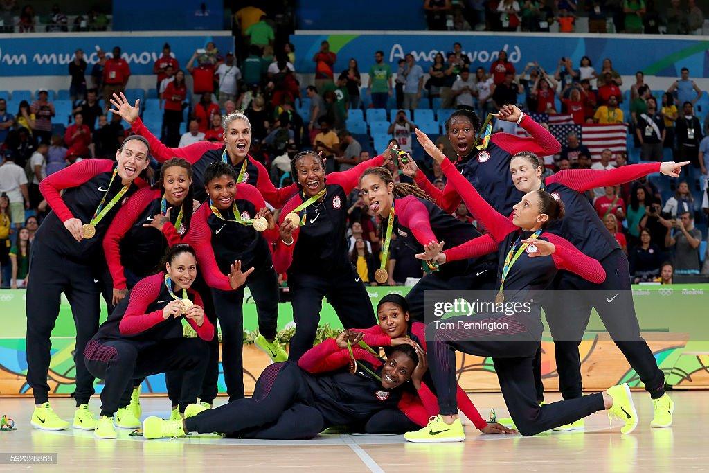 Basketball - Olympics: Day 15 : ニュース写真