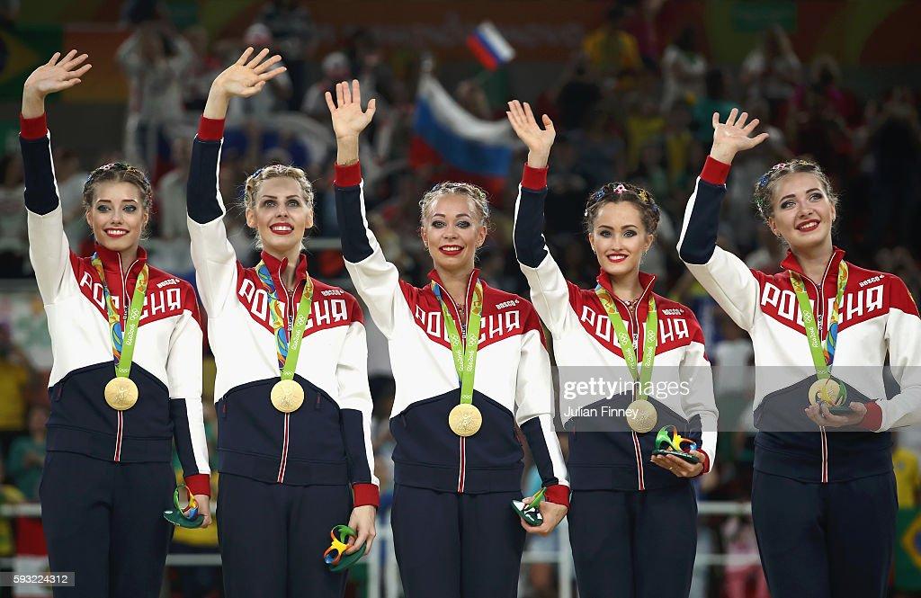 Gymnastics - Rhythmic - Olympics: Day 16 : News Photo