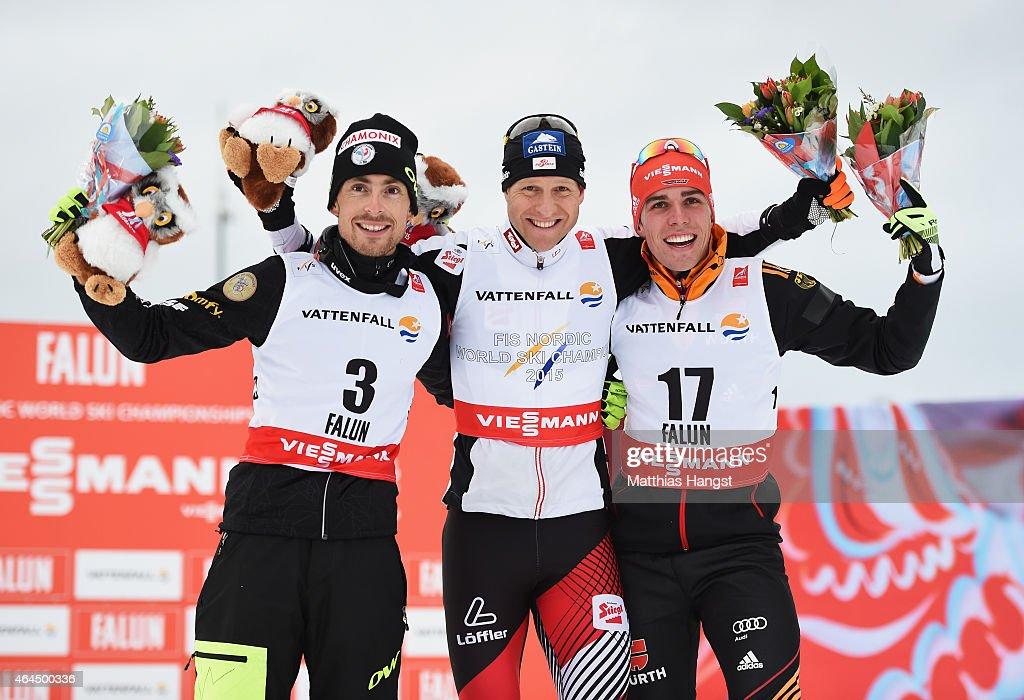 Men's Nordic Combined HS134/10km - FIS Nordic World Ski Championships : News Photo