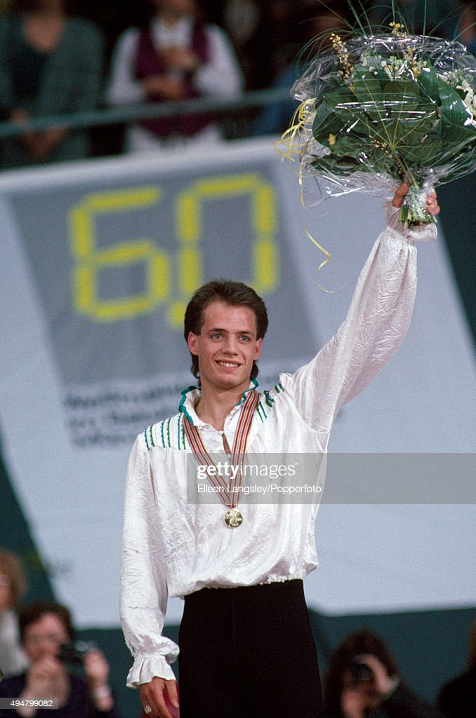 Kurt Browning - World Figure Skating Championships : Nachrichtenfoto