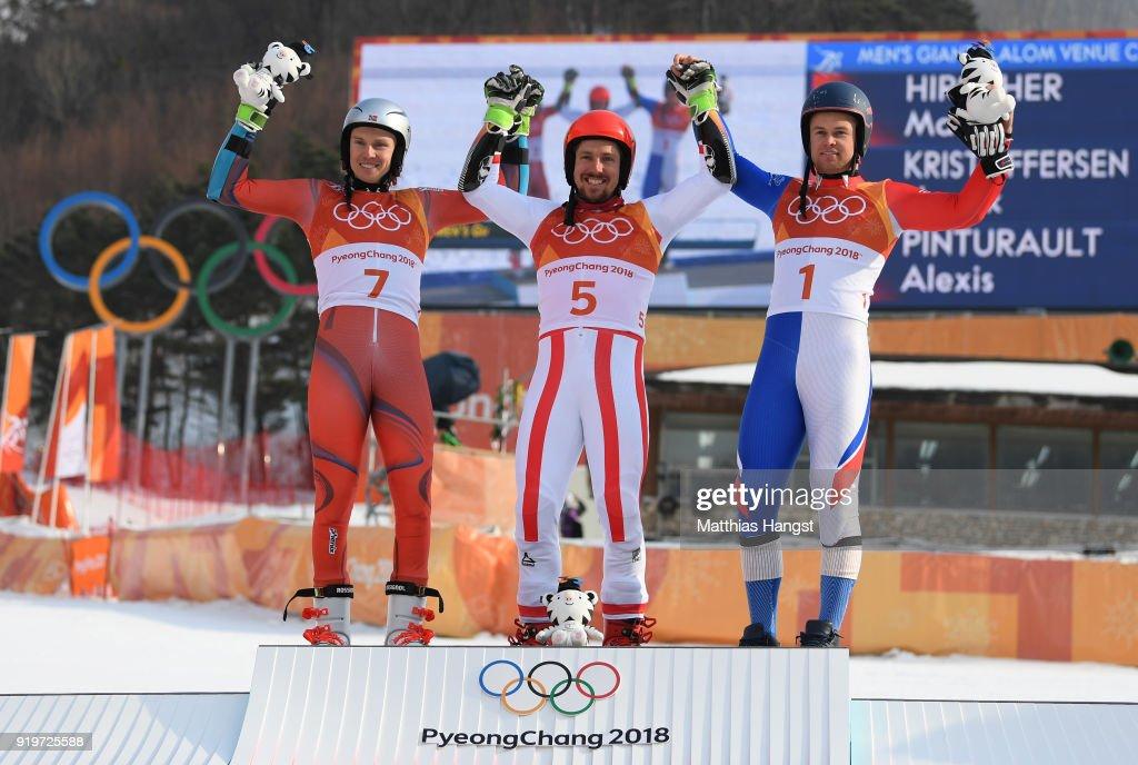 Alpine Skiing - Winter Olympics Day 9 : Fotografia de notícias