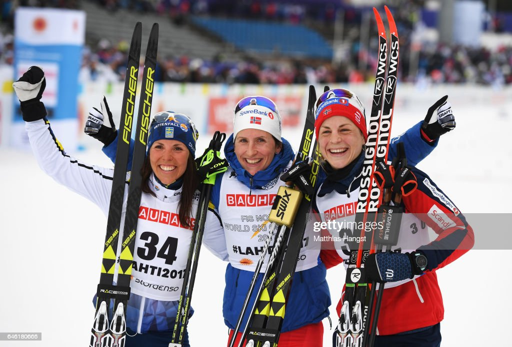 Women's Cross Country Distance - FIS Nordic World Ski Championships : News Photo