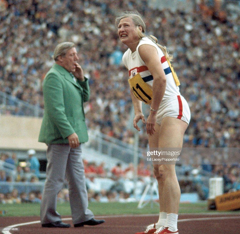 Mary Peters - Munich Olympic Games : Fotografía de noticias