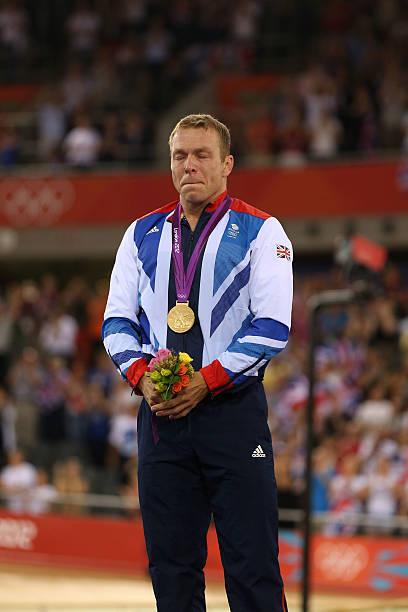 Sports Memorabilia Sir Chris Hoy Signed Giant London 2012 Olympic Velodrome Celebration Photograph