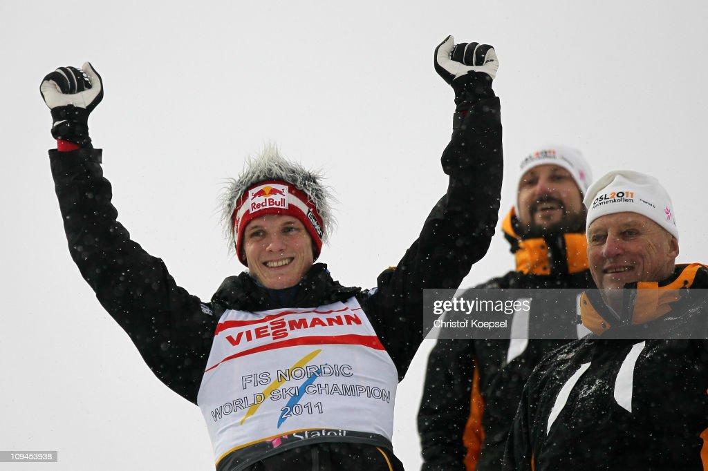 Men's Ski Jumping HS106 - FIS Nordic World Ski Championships : News Photo