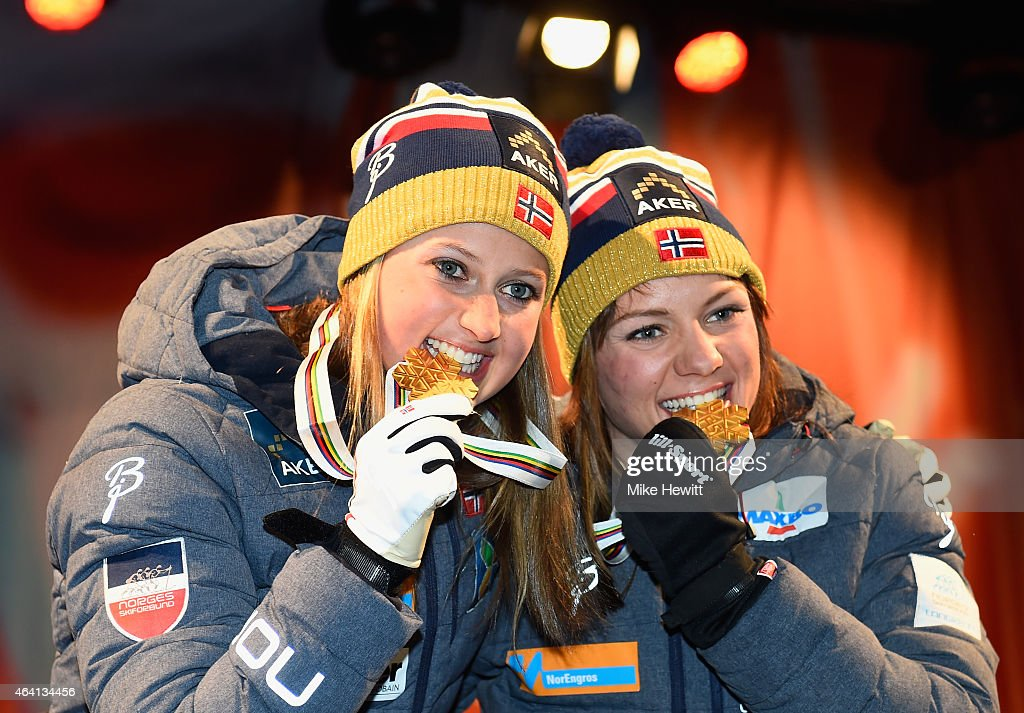 Cross Country: Men's & Women's Team Sprint - FIS Nordic World Ski Championships : News Photo