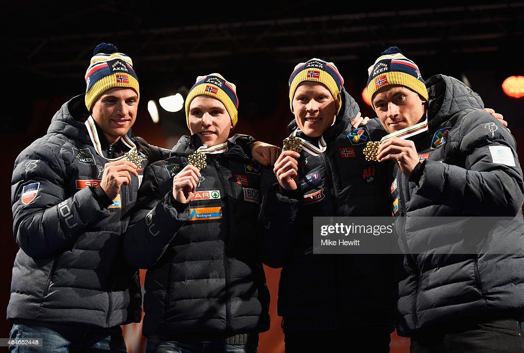 Cross Country: Men's Relay - FIS Nordic World Ski Championships