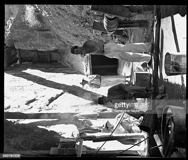 Gold Miners Taking a Break