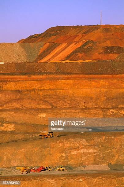 Gold mining in the Super Pit the largest open pit mine in Australia producing up to 28 tones of gold every year It is about 570 m deep 35 km long and...