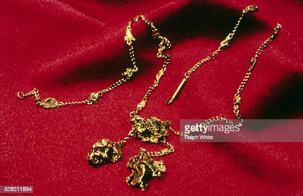 Gold Nugget Necklace from the Titanic