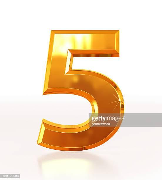 Goldenen Zahl 5