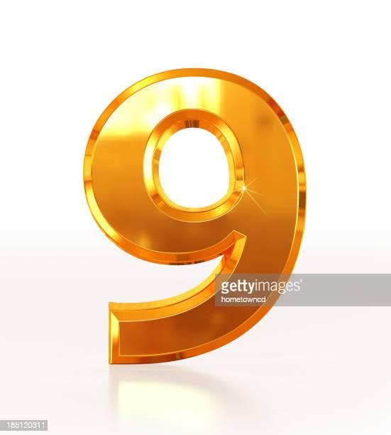 金数字の 9