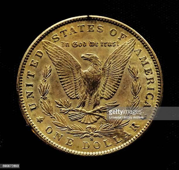 Gold one dollar coin USA 1898