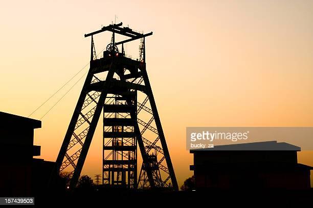 Gold oder platinum mine Kopf Ausrüstung in Johannesburg, Südafrika