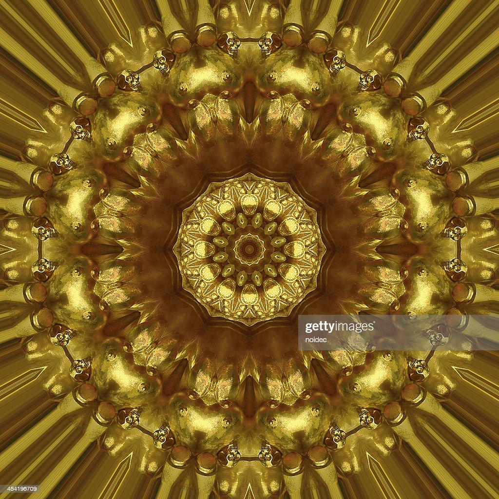 Emblema de Ouro : Foto de stock