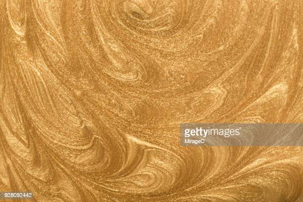 Gold Paint Pattern