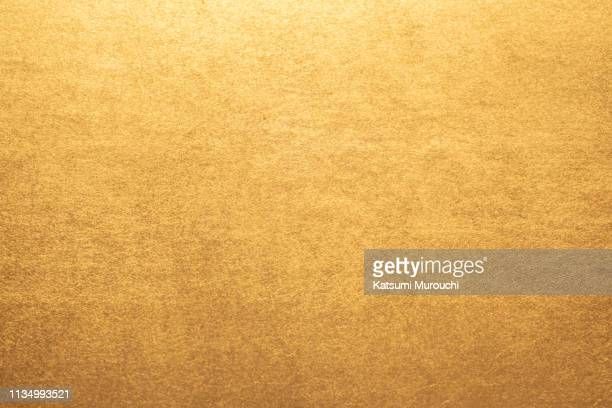 gold paper texture background - washi paper stock pictures, royalty-free photos & images