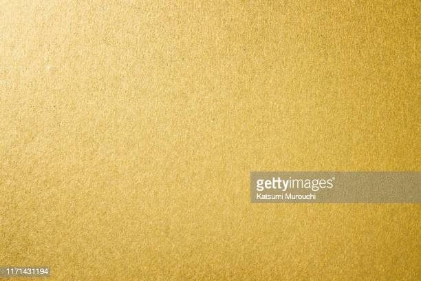 gold paper texture background - 金色 ストックフォトと画像