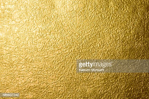 Gold Paper Texture Background Stock Photo Getty Images