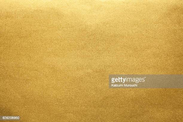 gold paper texture background - japanese culture stock pictures, royalty-free photos & images