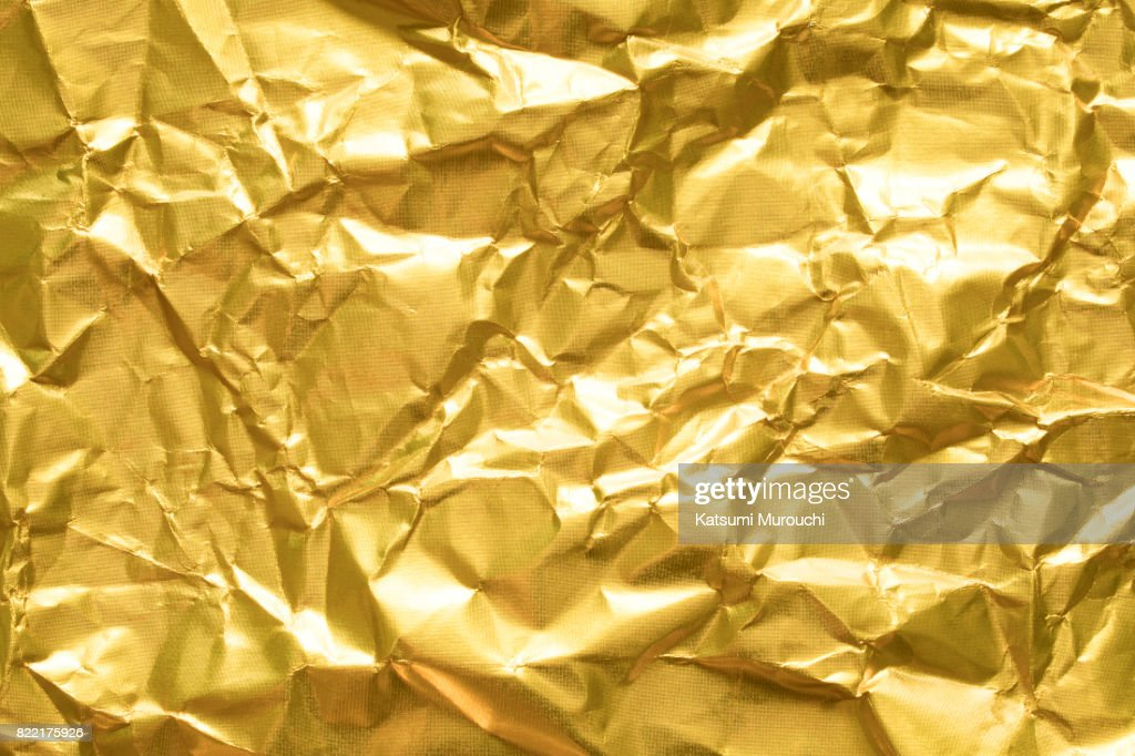 Gold paper texture background : Stock Photo