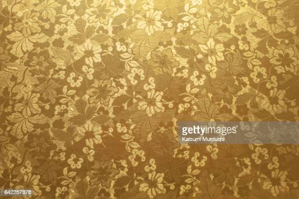 gold paper textures background - motivo floreale foto e immagini stock